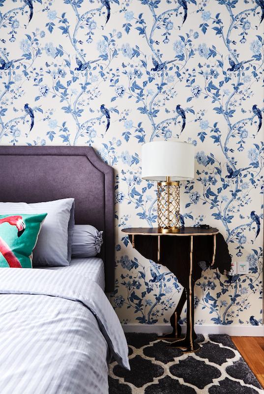 9 ý tưởng nội thất cho những người thích màu xanh lam - Ảnh 8.