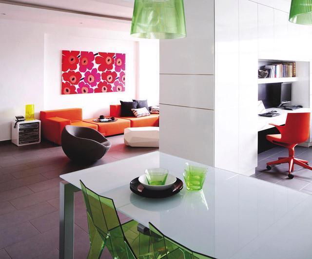 7 ý tưởng nội thất cho người thích màu cam - Ảnh 3.