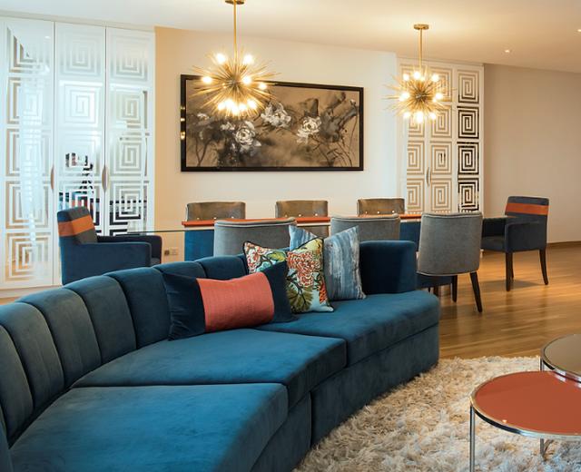 7 ý tưởng nội thất cho người thích màu cam - Ảnh 6.