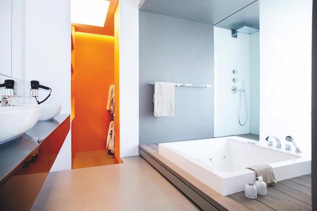 7 ý tưởng nội thất cho người thích màu cam - Ảnh 7.
