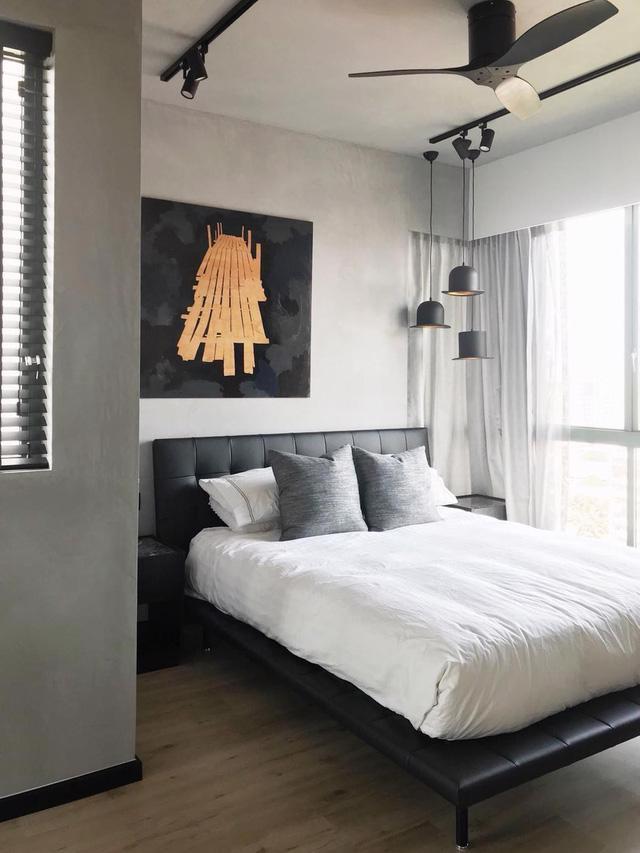 9 ý tưởng treo tranh cho mảng tường đầu giường - Ảnh 1.