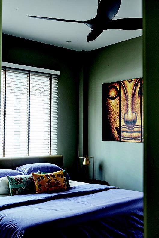 9 ý tưởng treo tranh cho mảng tường đầu giường - Ảnh 5.