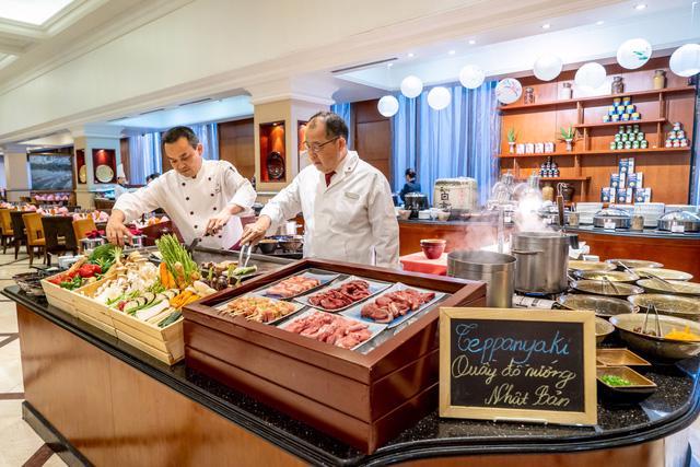 Ẩm thực Nhật Bản tại khách sạn Sheraton Hanoi - Ảnh 3.