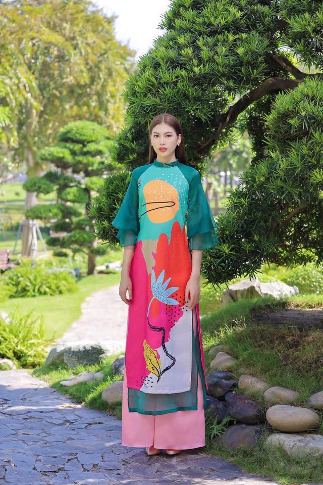 Chọn áo dài Tết cùng hai nàng Á hậu Phương Anh, Ngọc Thảo - Ảnh 5.