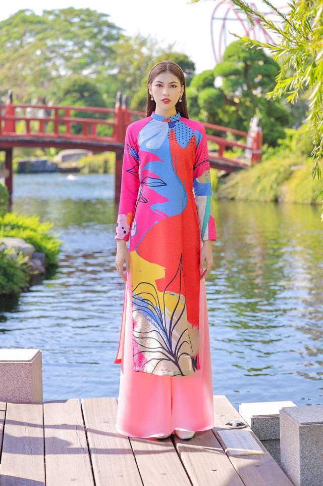 Chọn áo dài Tết cùng hai nàng Á hậu Phương Anh, Ngọc Thảo - Ảnh 7.