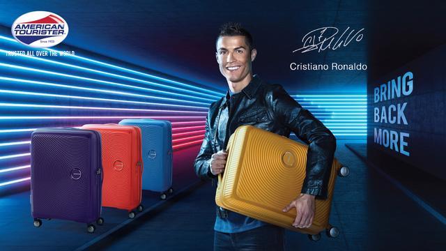 Cristiano Ronaldo trở thành đại sứ thương hiệu American Tourister - Ảnh 1.