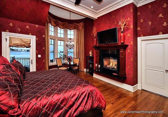 19 thiết kế phòng ngủ với tông đỏ rực rỡ - Ảnh 10.