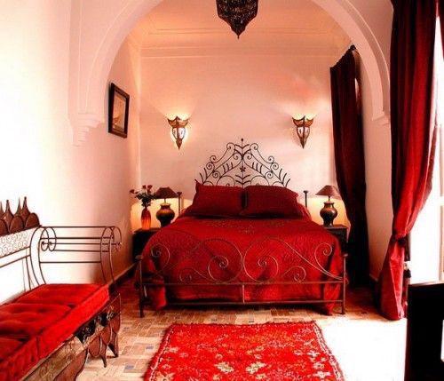 19 thiết kế phòng ngủ với tông đỏ rực rỡ - Ảnh 11.