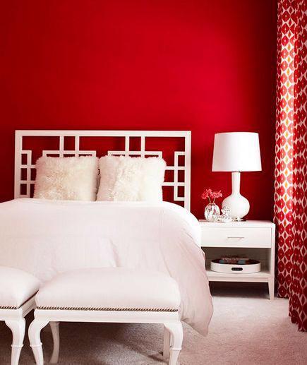 19 thiết kế phòng ngủ với tông đỏ rực rỡ - Ảnh 12.
