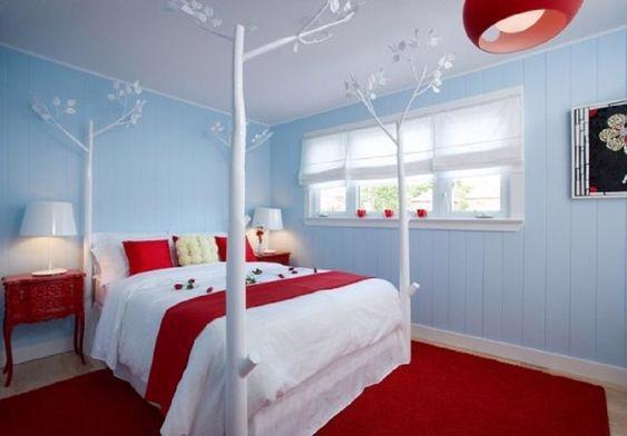 19 thiết kế phòng ngủ với tông đỏ rực rỡ - Ảnh 19.
