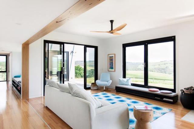 10 không gian hiện đại được décor với quạt trần - Ảnh 1.