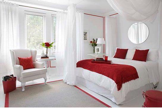 19 thiết kế phòng ngủ với tông đỏ rực rỡ - Ảnh 2.