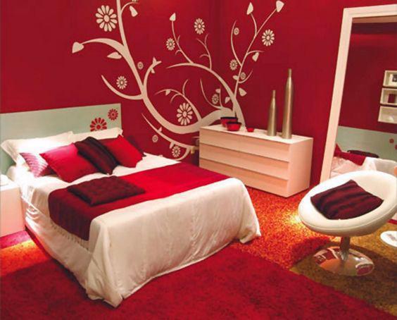 19 thiết kế phòng ngủ với tông đỏ rực rỡ - Ảnh 5.