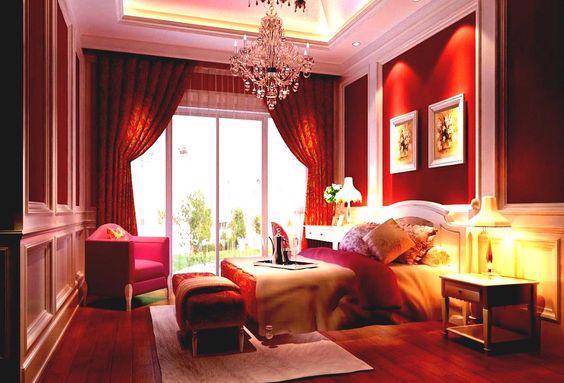 19 thiết kế phòng ngủ với tông đỏ rực rỡ - Ảnh 7.
