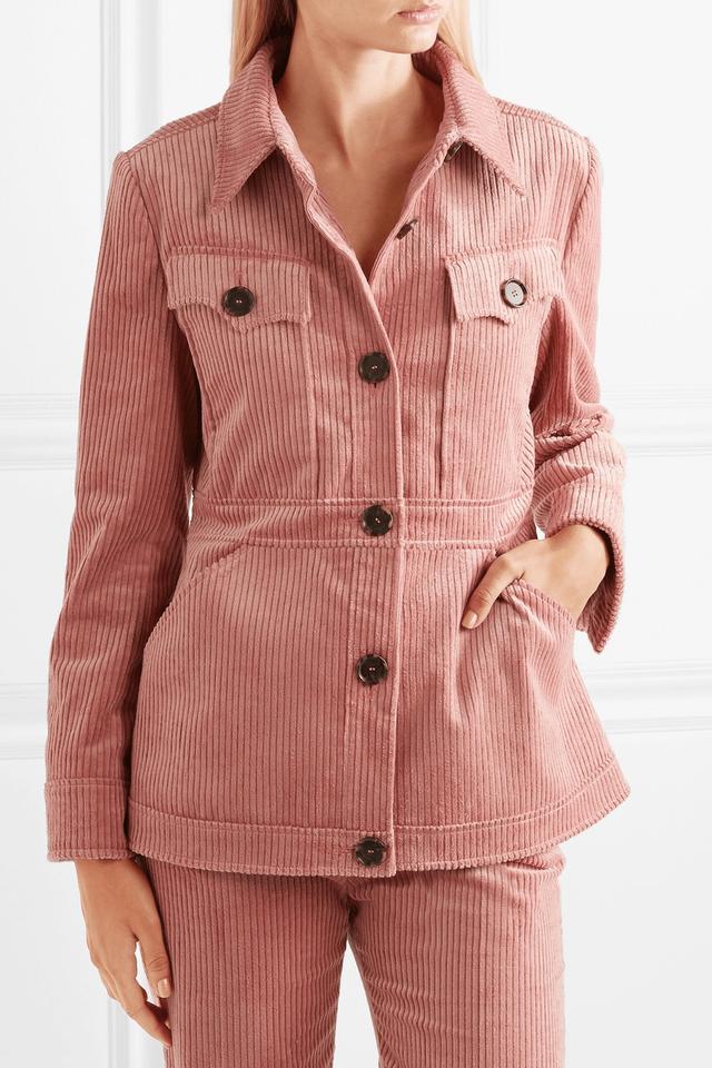 10 chiếc áo khoác màu hồng sẽ làm bừng sáng mùa đông - Ảnh 5.