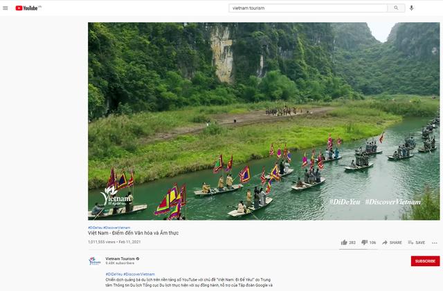 Clip quảng bá du lịch Việt Nam vượt mốc 1 triệu lượt xem - Ảnh 1.