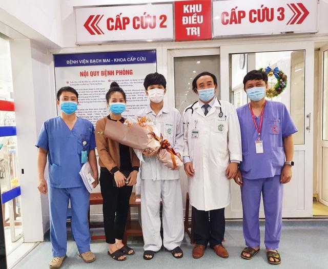 Một bệnh nhân ngừng tim, ngừng tuần hoàn được cứu sống thần kỳ - Ảnh 2.