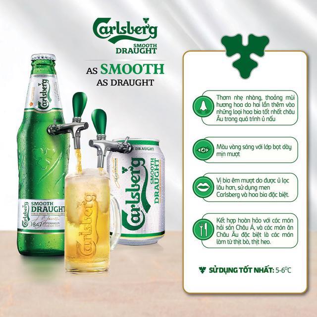 Chính thức ra mắt sản phẩm Carlsberg Smooth Draught tại Việt Nam - Ảnh 2.