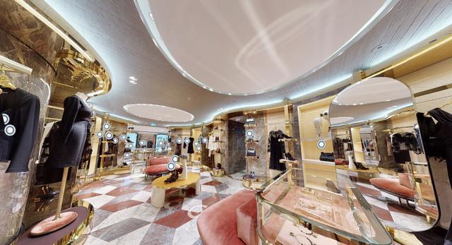 Thử mua sắm tại cửa hàng thời trang thực tế ảo của Dolce & Gabbana - Ảnh 4.