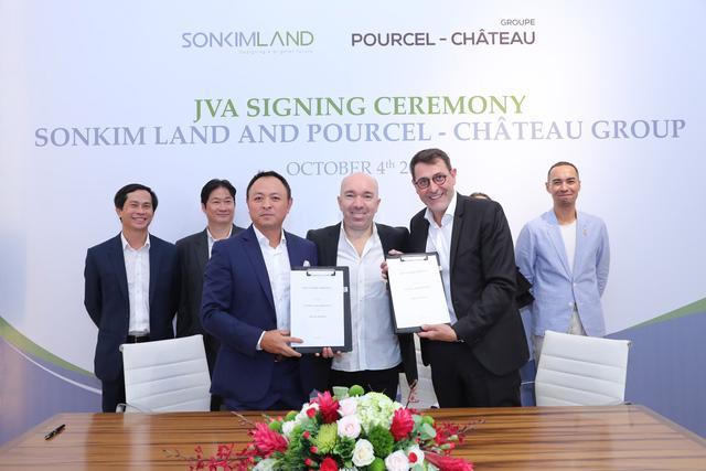 SonKim Land bắt tay với thương hiệu ẩm thực Pourcel Château - Ảnh 2.