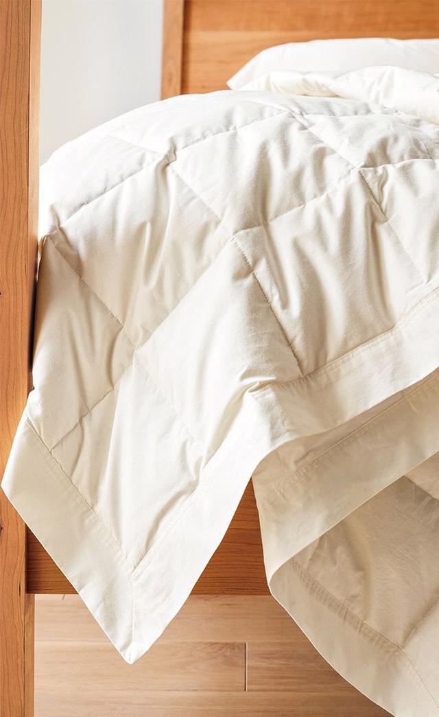 Chọn chăn lông vũ đúng chuẩn và lưu ý khi sử dụng - Ảnh 1.