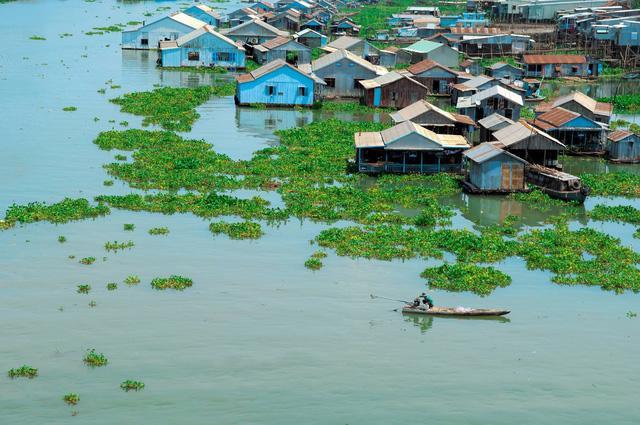 Thăm làng bè Châu Đốc mùa nước nổi - Ảnh 7.