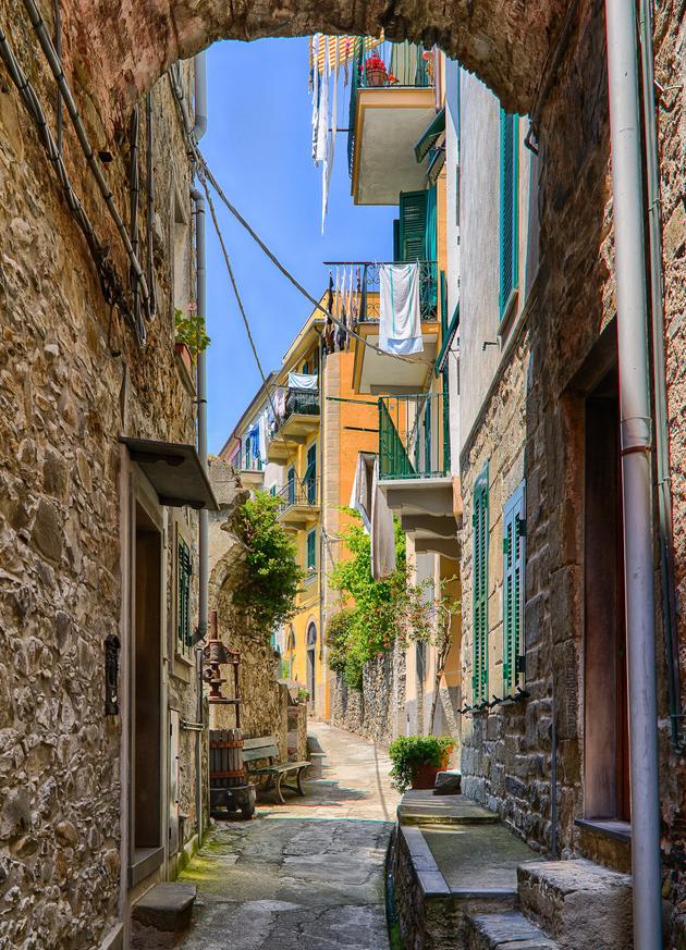 Vẻ đẹp lâu đời nước Ý trong 5 ngôi làng của Cinque Terre - Ảnh 8.