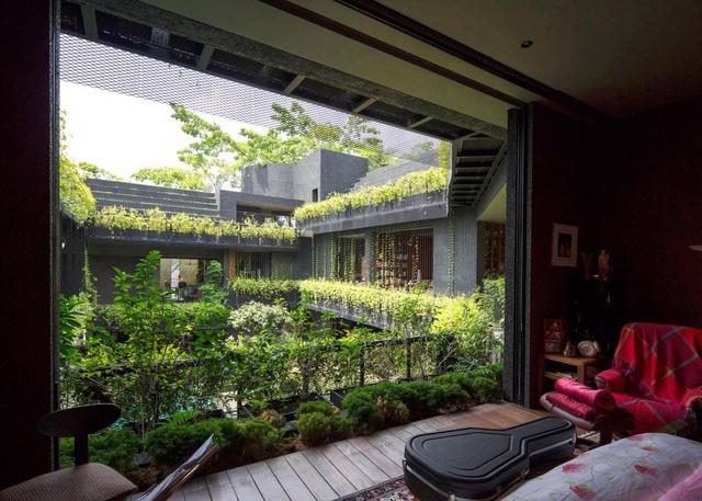Chiêm ngưỡng biệt thự xanh đáng kinh ngạc ở Singapore - Ảnh 10.