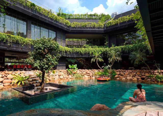 Chiêm ngưỡng biệt thự xanh đáng kinh ngạc ở Singapore - Ảnh 1.