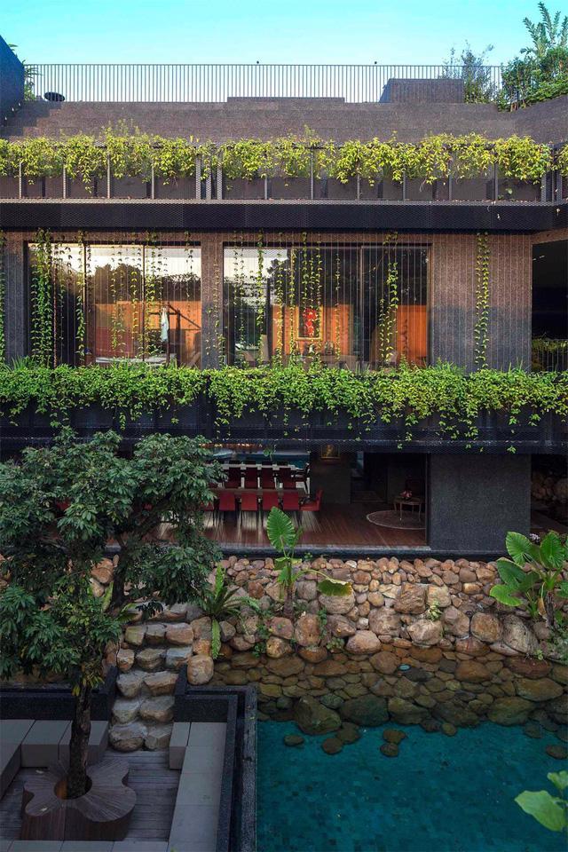 Chiêm ngưỡng biệt thự xanh đáng kinh ngạc ở Singapore - Ảnh 3.