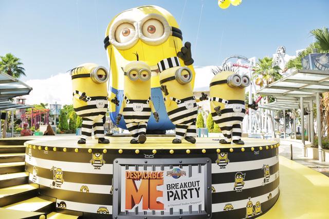 """""""Vui quậy"""" hết cỡ cùng Minion tại công viên Universal Studios Singapore - Ảnh 2."""