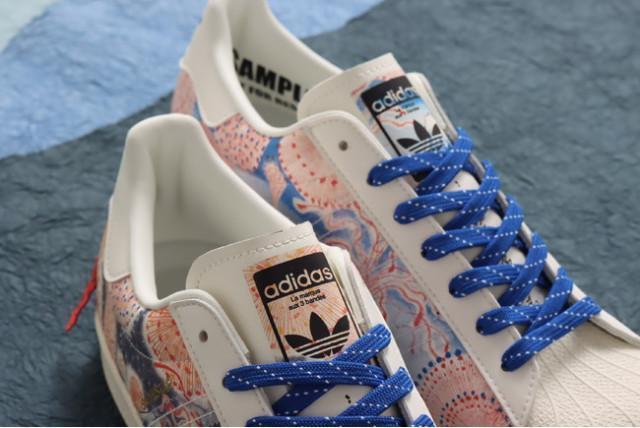 Cận cảnh đôi giày Adidas đang gây sốt tại Nhật Bản - Ảnh 5.