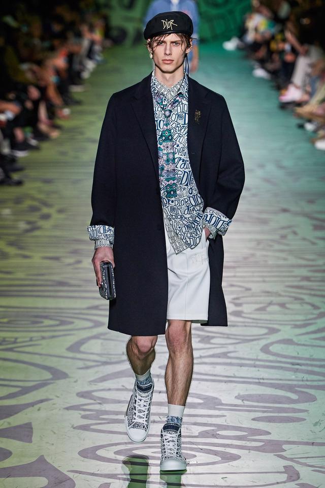 BST pre-fall 2020 dành cho nam giới của Dior: sắc màu biển nhiệt đới - Ảnh 13.