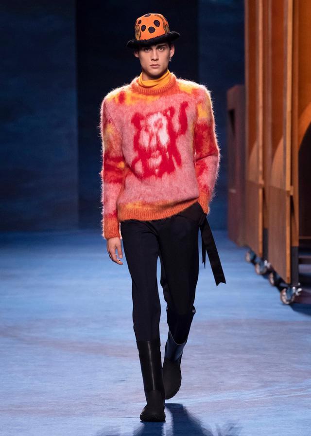 Dior Thu - Đông 2021: cuộc đối thoại giữa nghệ thuật và thời trang - Ảnh 7.