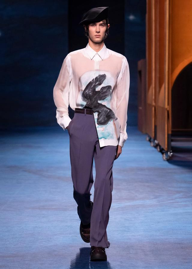 Dior Thu - Đông 2021: cuộc đối thoại giữa nghệ thuật và thời trang - Ảnh 5.