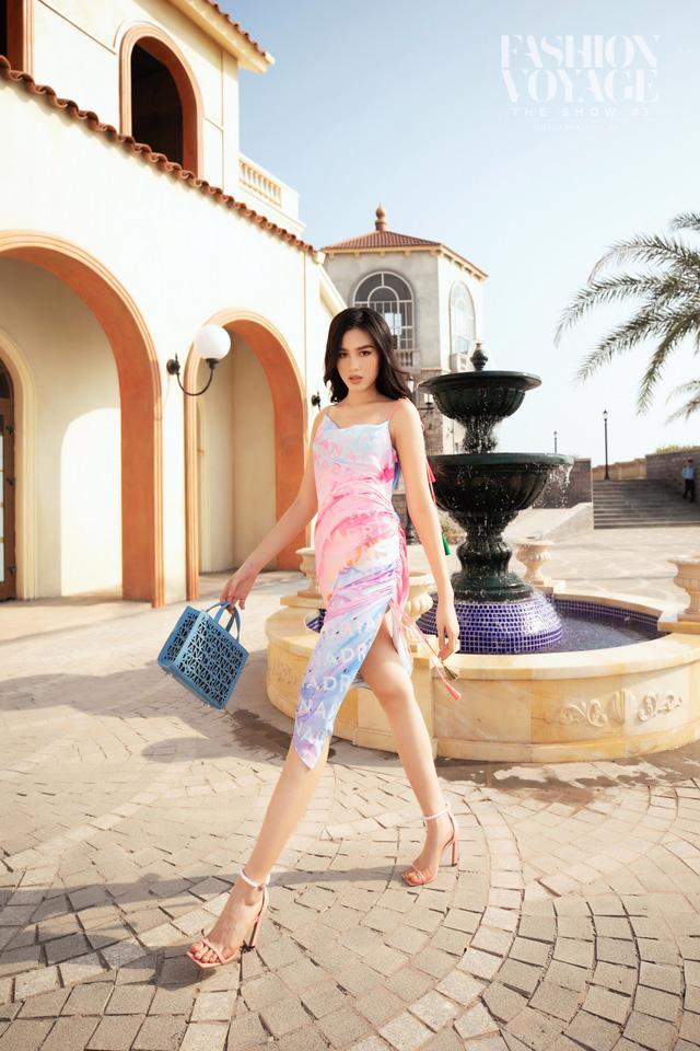 Dàn Hoa hậu, Á hậu tỏa sáng tại Fashion Voyage - Ảnh 3.