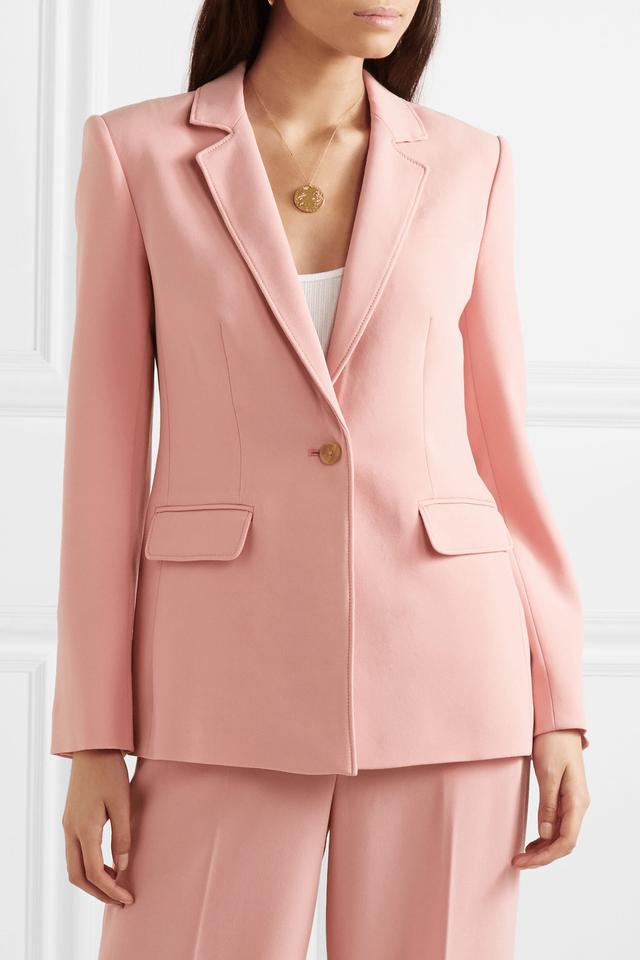 10 chiếc áo khoác màu hồng sẽ làm bừng sáng mùa đông - Ảnh 7.