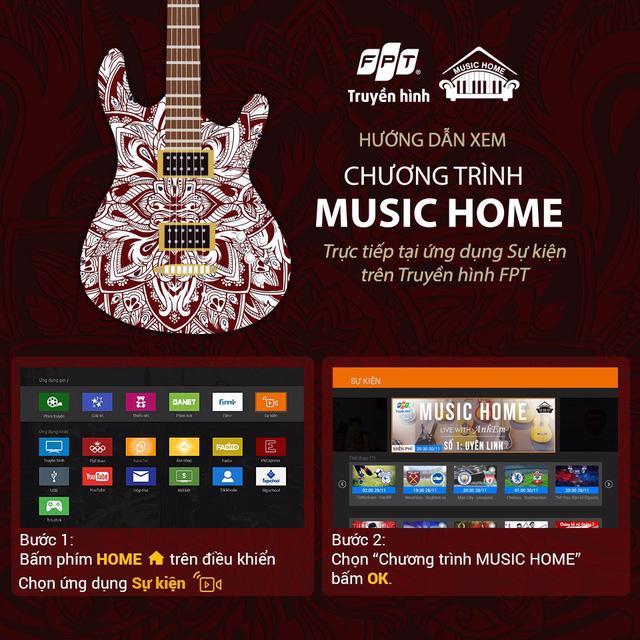 Ra mắt series âm nhạc Music Home trên Truyền hình FPT - Ảnh 4.