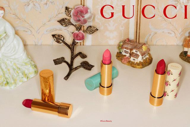 Gucci ra mắt bộ sưu tập son ấn tượng - Ảnh 1.