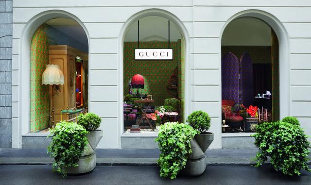 Ngắm cửa hàng nội thất Gucci mới khai trương tại Milan - Ảnh 1.