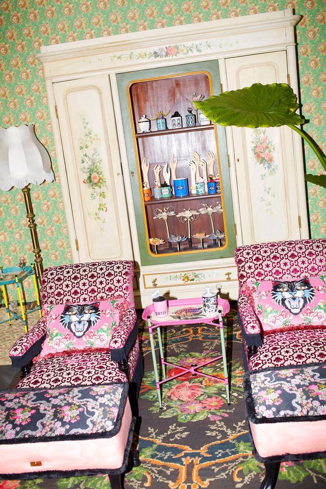 Ngắm cửa hàng nội thất Gucci mới khai trương tại Milan - Ảnh 9.