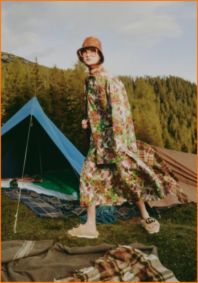 BST thời trang dã ngoại của Gucci và The North Face - Ảnh 12.