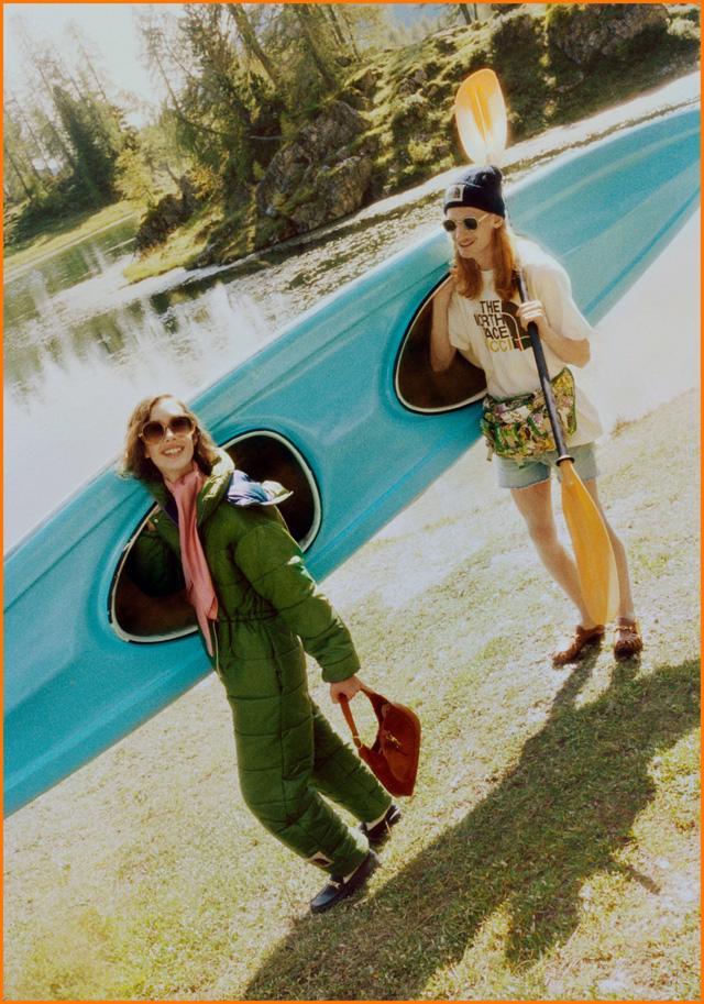 BST thời trang dã ngoại của Gucci và The North Face - Ảnh 7.