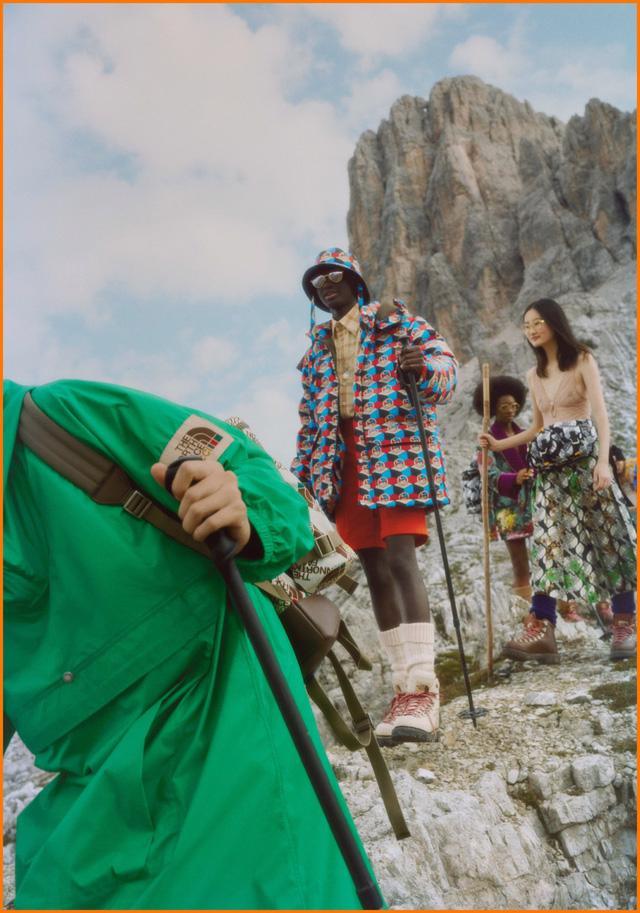BST thời trang dã ngoại của Gucci và The North Face - Ảnh 9.