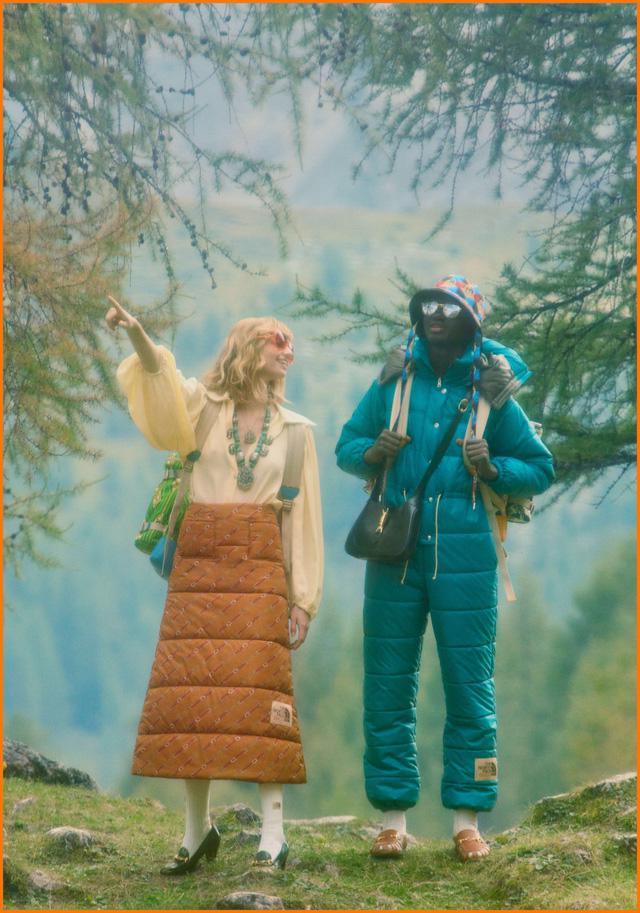 BST thời trang dã ngoại của Gucci và The North Face - Ảnh 4.