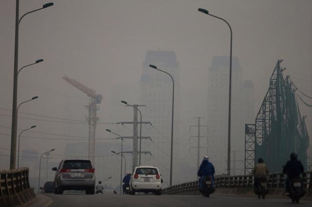 Cảnh báo ô nhiễm không khí báo động tại nhiều tỉnh phía Bắc - Ảnh 1.