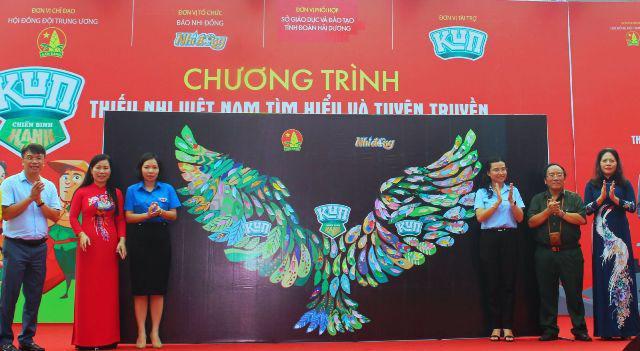 Hải Dương: phát động chương trình Thiếu nhi Việt Nam tìm hiểu và tuyên truyền bảo vệ môi trường - Ảnh 1.