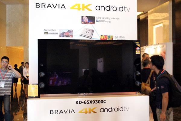 Sony ra mắt dòng BRAVIA 4K Android 2015 TV siêu mỏng - Ảnh 1