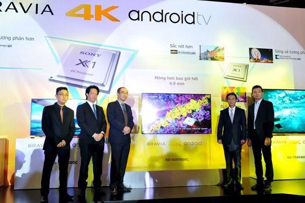 Sony ra mắt dòng BRAVIA 4K Android 2015 TV siêu mỏng - Ảnh 2