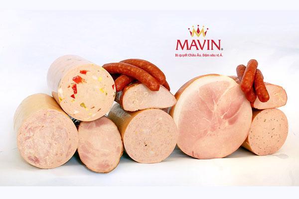 Xúc xích Mavin hương vị ngon, đậm chất Đức - Ảnh 1